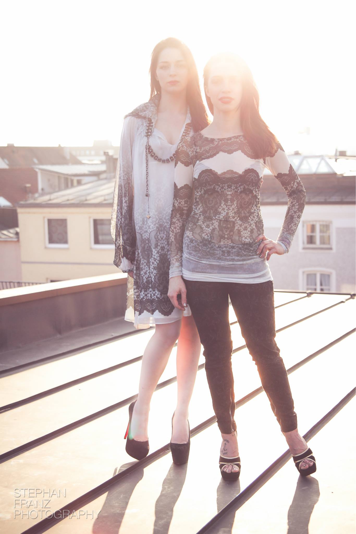Yousefy Rooftoop Fashion Shooting 2014 - Stephan Franz Photography