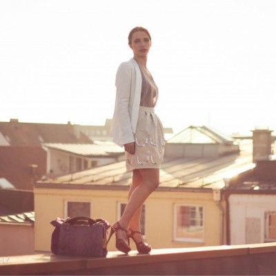 Fashion Rooftop Shooting Spring 2014