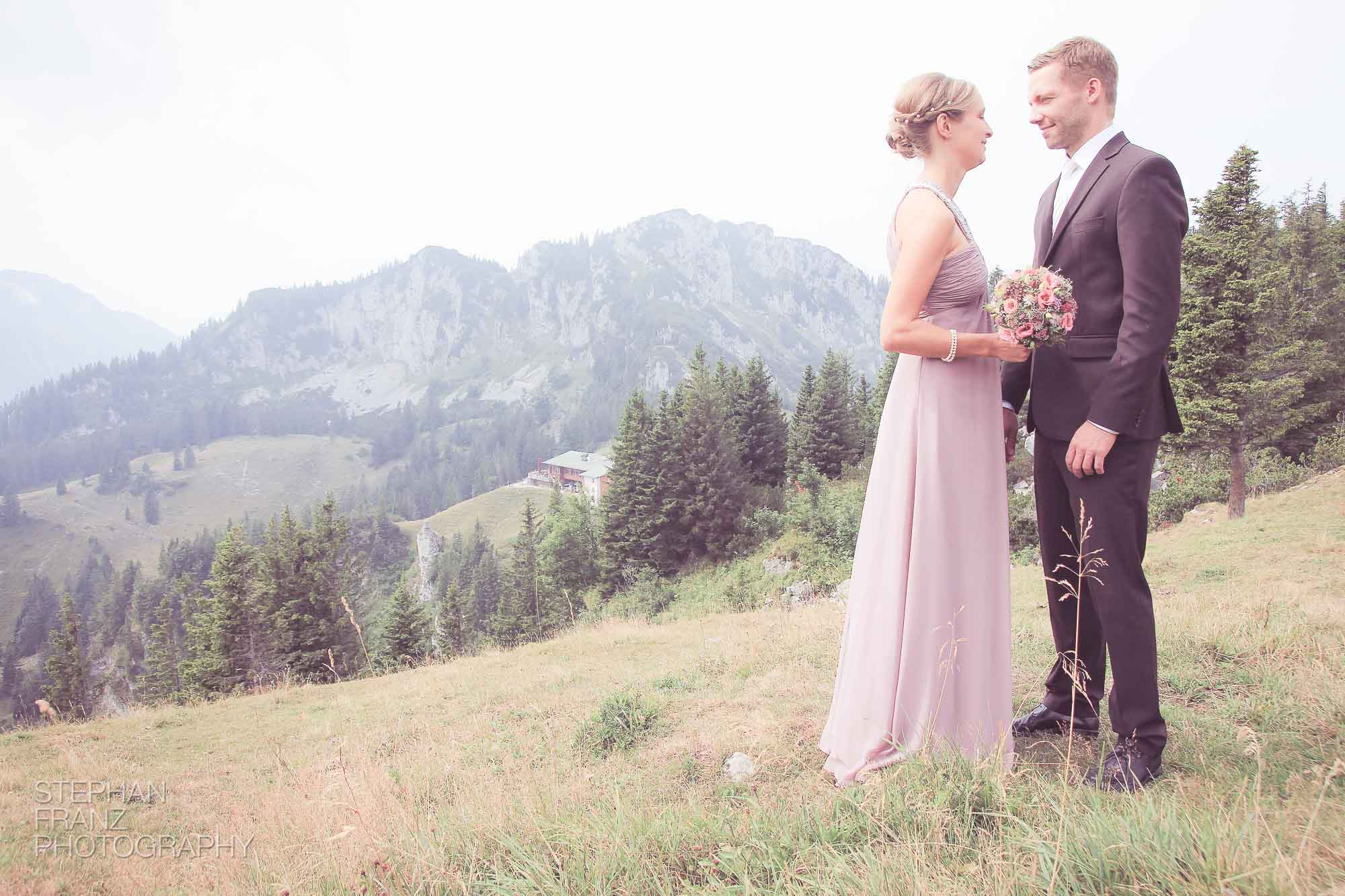 Hochzeit Shooting Kampenwand 2013 - Stephan Franz Photography