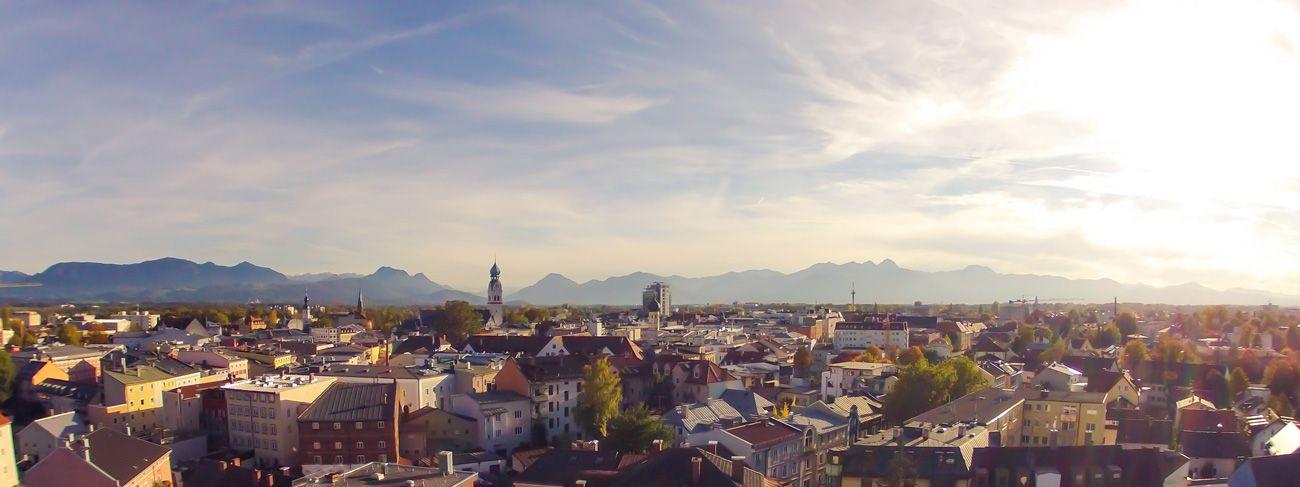 Luftaufnahme für Webseite www.anwaltrosenheim.de - Stephan Franz Photography