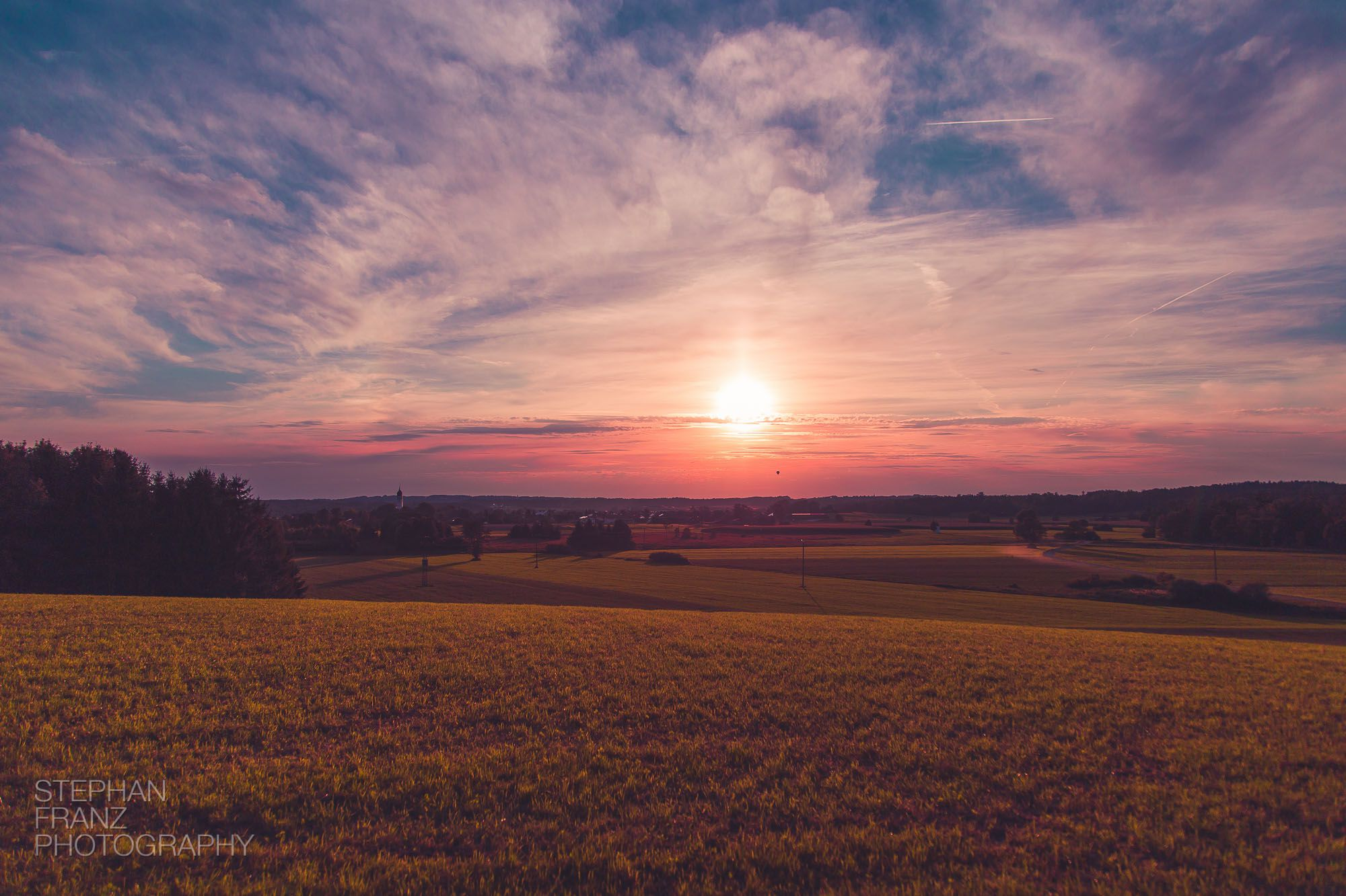 Sonnenuntergang-Ballon-Bayern-Stephan-Franz-Fotograf-Photography-1