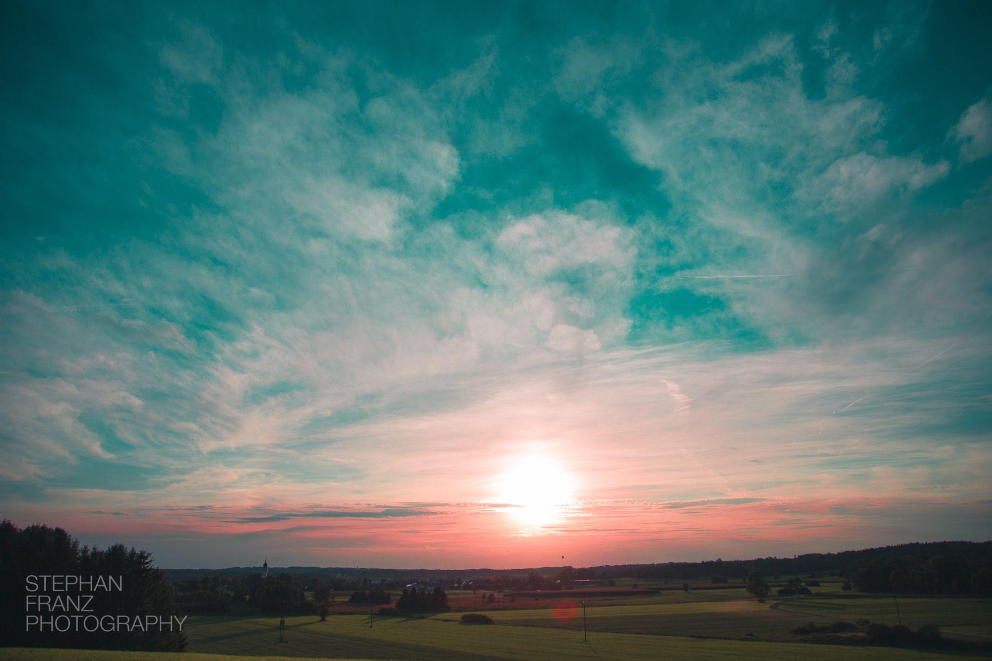 Sonnenuntergang-Ballon-Bayern-Stephan-Franz-Fotograf-Photography-3