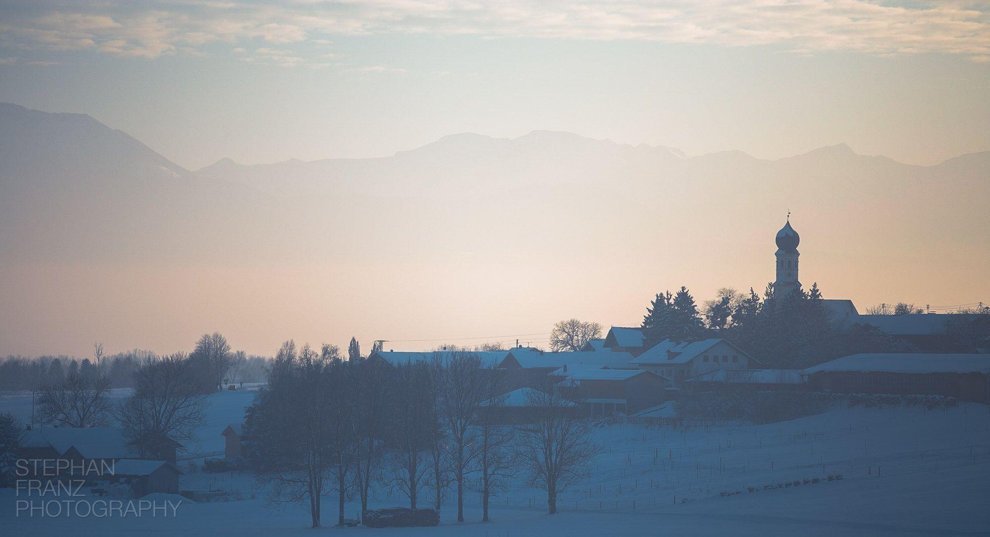 Winterspaziergang mit Angela in Beyharting bei Tuntenhausen im Alpenvorland in Bayern - Fotograf Stephan Franz Photography aus Rosenheim-1