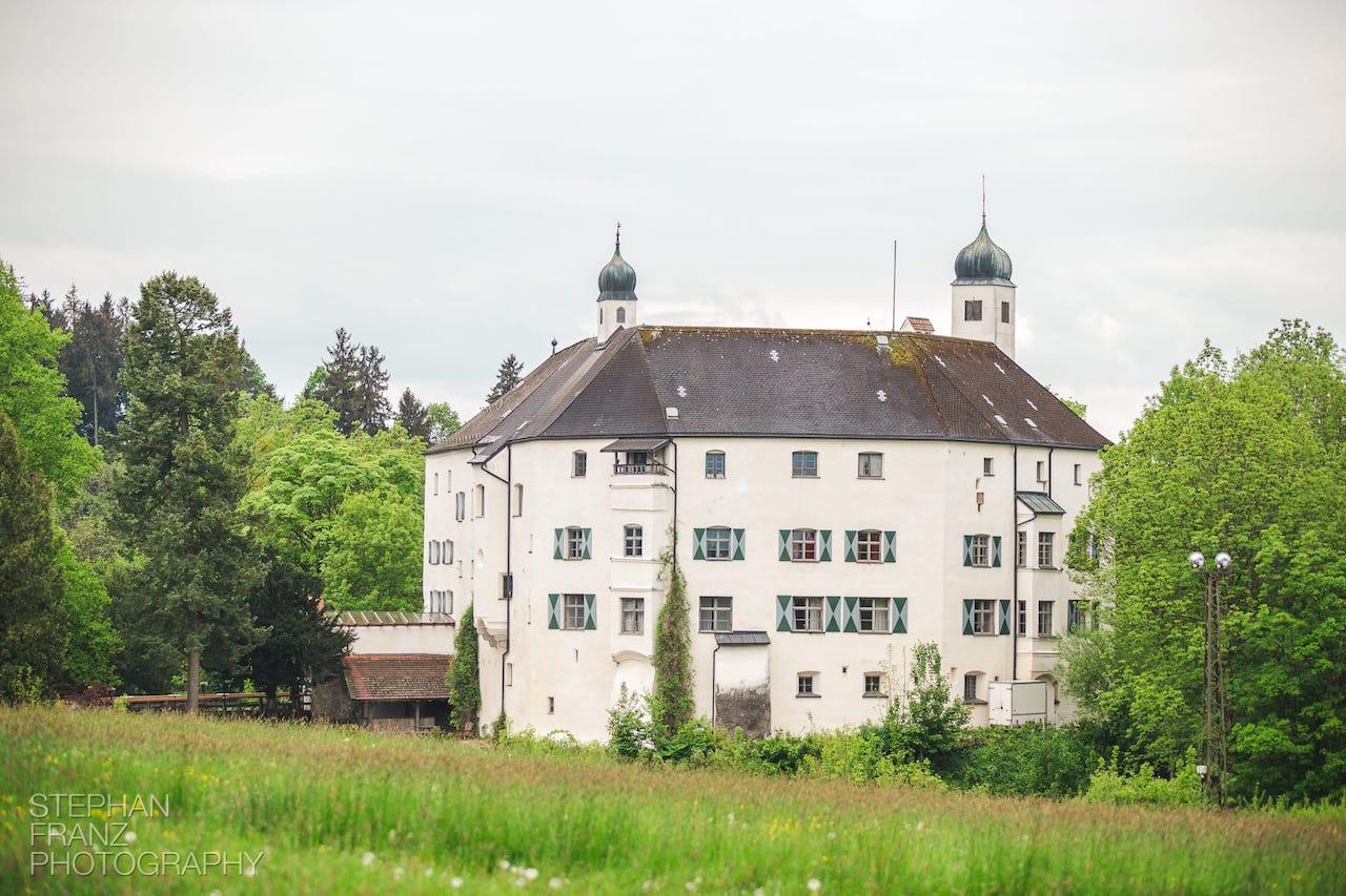 Titelbild Hochzeit Schloss Amerang - Stephan Franz Photography