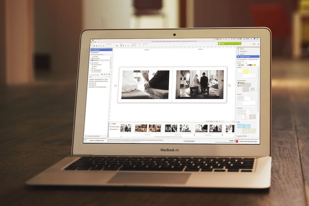 Saal Digital Software - Stephan Franz Photography - Fotograf aus Rosenheim