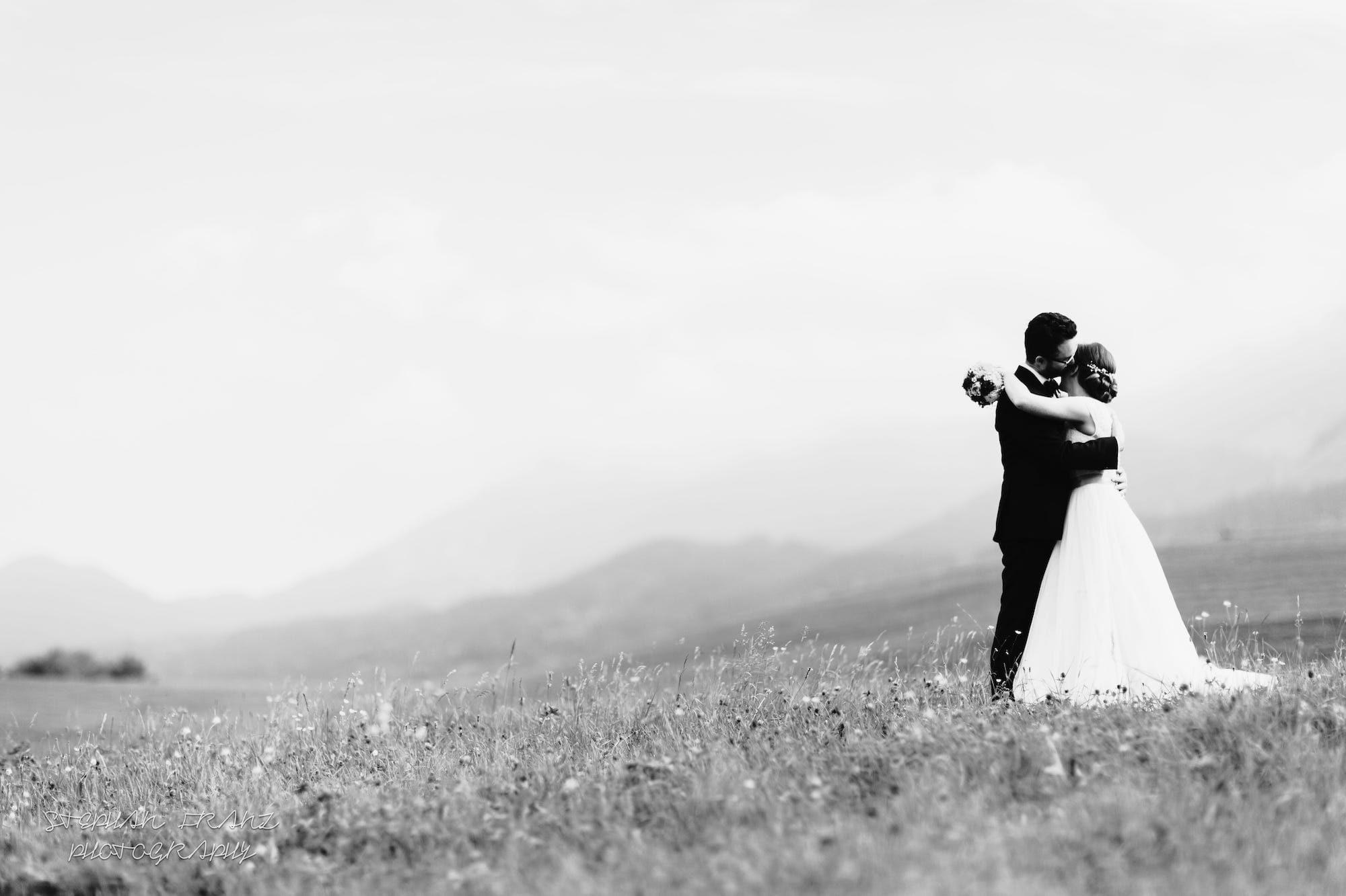 Hochzeit auf der Doagl Alm in der Spatenau im Wanderparadies Samerberg - Stephan Franz Photography - Hochzeitsfotograf aus Rosenheim